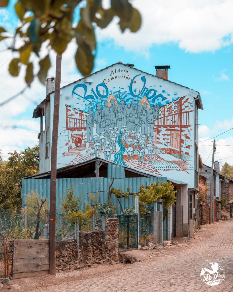 Arte Urbana em Rio de Onor
