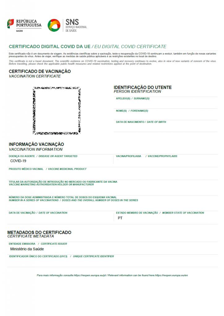 exemplo certificado digital covid