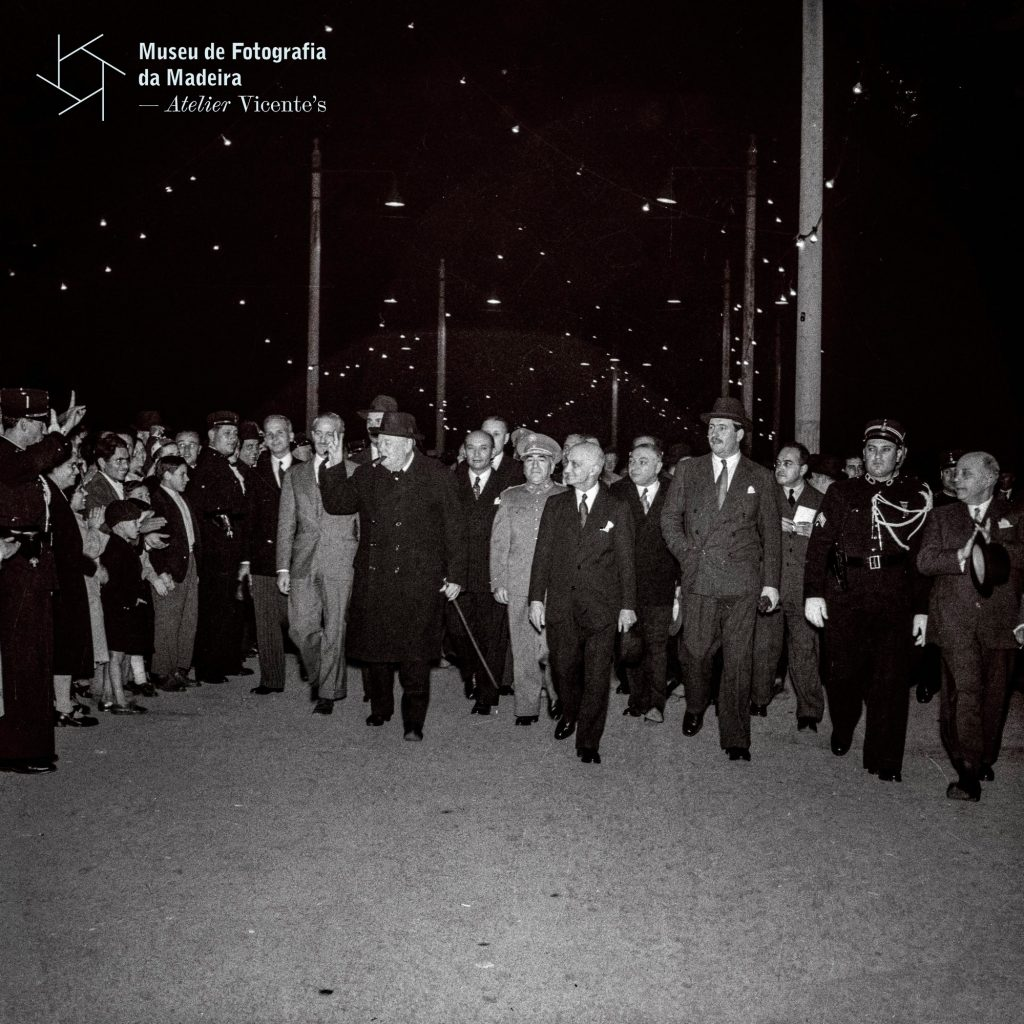 Chegada de Churchill à Madeira